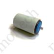 Görgő 50 mm palástátmérővel; Bevonattal (T22) Beépítési méret 100 mm; Rozsdamentes;