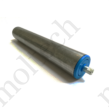 Görgő 60 mm palástátmérővel (T23) Beépítési méret 394 mm,Lapolt, Horganyzott acél