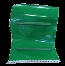 Alacsony lapátos szállítószalag PVC-ből