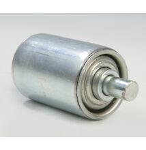 Görgő 50 mm palástátmérővel (T32) Beépítési méret 110 mm, Aluminizált