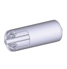 Görgő 50 mm palástátmérővel (T32) Beépítési méret 600 mm,Belső menet, Rozsdamentes acél