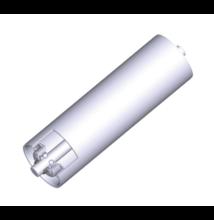Görgő 108 mm palástátmérővel (T41) Beépítési méret 200 mm; Horganyzott acél
