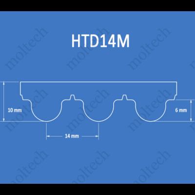 HTD14M bordásszíj