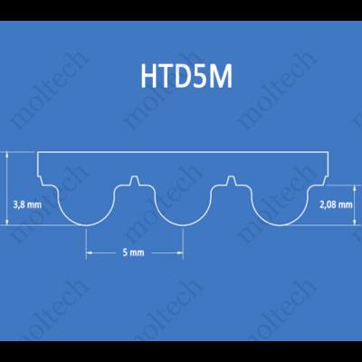 HTD5M bordásszíj