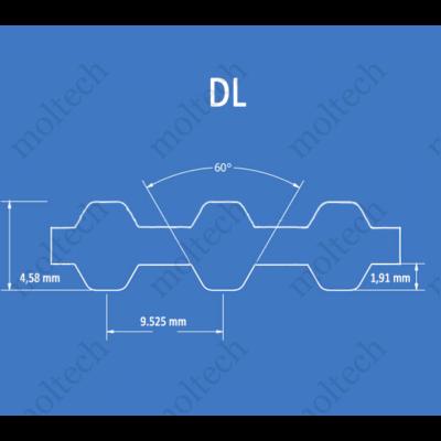 DL profilú bordásszíj