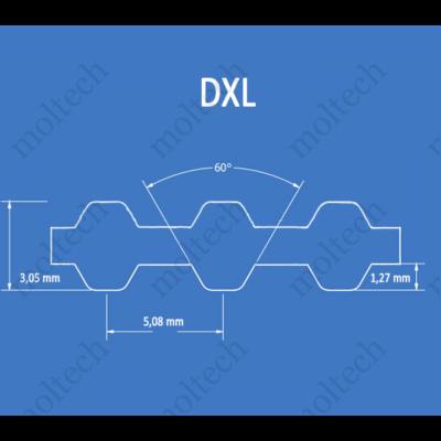 DXL profilú bordásszíj