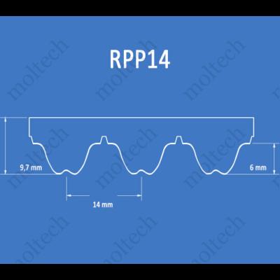 RPP14 bordásszíj