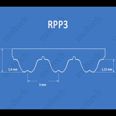 RPP3 bordásszíj