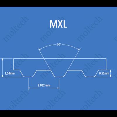 MXL bordásszíj