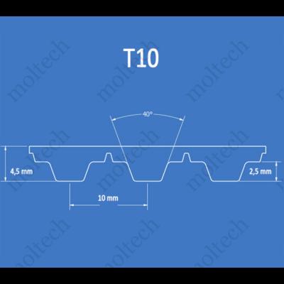T10 bordásszíj