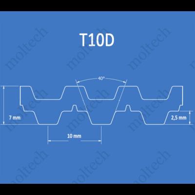 T10D bordásszíj