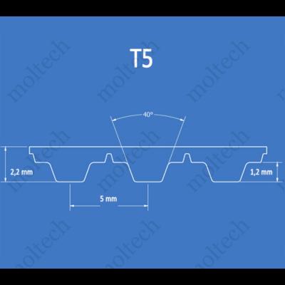 T5 bordásszíj