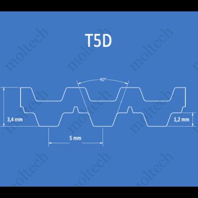 T5D bordásszíj