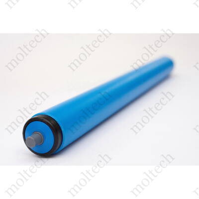 Görgő 32 mm palástátmérővel (T14) Beépítési méret 130 mm, Műanyag rugós