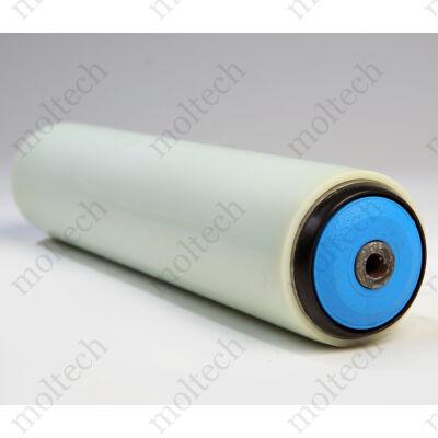 Görgő 50 mm palástátmérővel; Bevonattal (T22) Beépítési méret 1250 mm; Aluminizált;