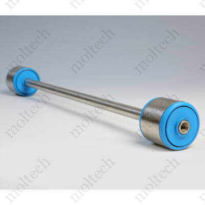 Görgő 50 mm palástátmérővel (T23) Beépítési méret 461 mm,Rozsdamentes