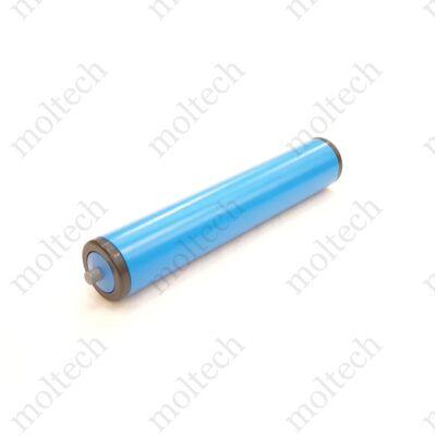 Görgő 50 mm palástátmérővel (T14) Beépítési méret 120 mm, Műanyag rugós