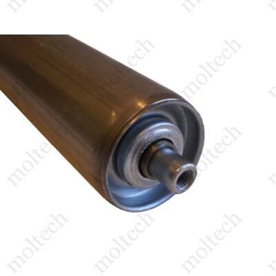 Görgő 60 mm palástátmérővel (T33) Beépítési méret 995 mm, Horganyzott acél