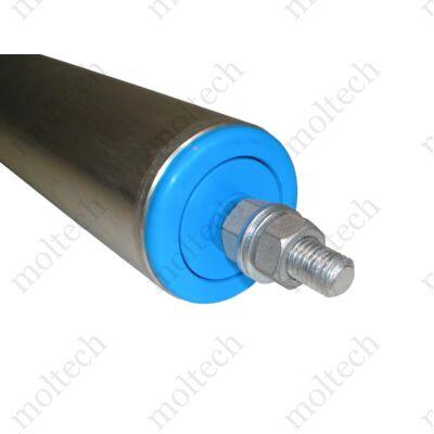 Görgő 60 mm palástátmérővel (T23) Beépítési méret 350 mm, Horganyzott acél