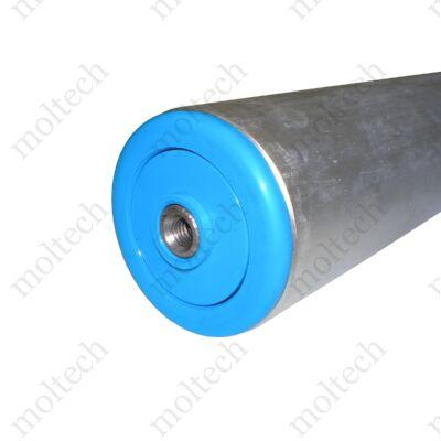 Görgő 50 mm palástátmérővel (T23) Beépítési méret 667 mm,Rozsdamentes
