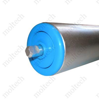 Görgő 60 mm palástátmérővel (T23) Beépítési méret 378 mm,Lapolt, Aluminizált