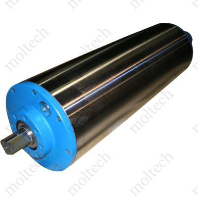 Van der Graaf dobmotor; 113 mm átmérő; 275 mm palásthossz; v=1,6 m/s; P=0,18kW