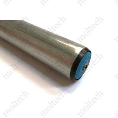 Görgő 50 mm palástátmérővel; (T22) Beépítési méret 640 mm;Belső menet, Aluminizált acél