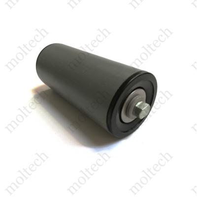 Görgő 90 mm palástátmérővel (T44) Beépítési méret 210 mm,Lapolt, PVC