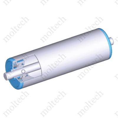 Görgő 40 mm palástátmérővel (T23) Beépítési méret 588 mm,Rozsdamentes