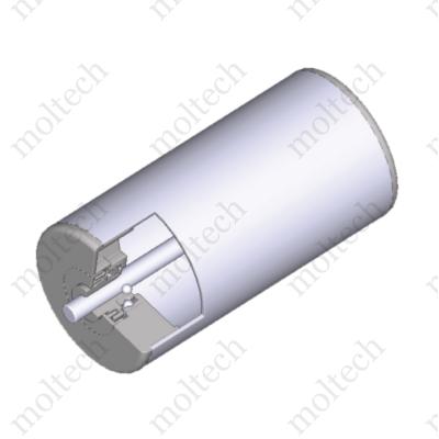 Görgő 63-89 mm palástátmérővel (T25) Műanyag csapágyház